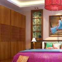 卧室现代清新简约装修效果图
