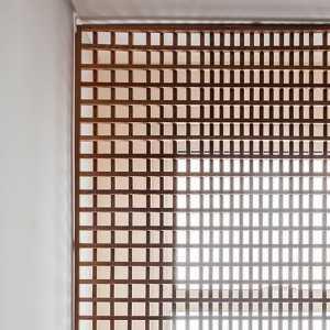 圆木块装饰造型
