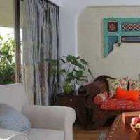 客厅吊顶美式茶几装修效果图