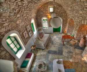 西式古典六居室書房飄窗效果圖