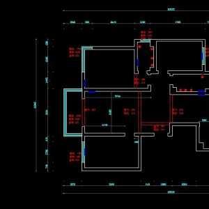 三居门厅过道效果图