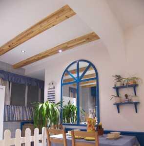 狭长厨房与生活阳台装修效果图