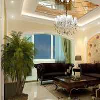 彩色沙发客厅富裕型装修效果图