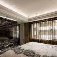 双人卧室背景墙卧室美式装修效果图
