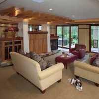 求三室二廳房屋裝修設計圖,帶復式樓的!!
