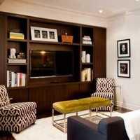绿色清新美式书房装饰装潢效果图