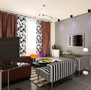 卧室两个单人床装修效果图