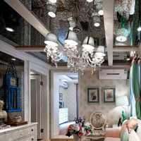 客厅吊顶茶几三居客厅装修效果图