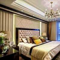 卧室背景墙卧室140平米装修效果图