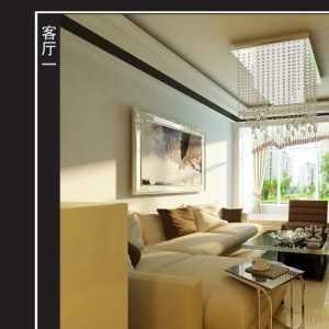 暖色调 清新时尚小户型客厅装修