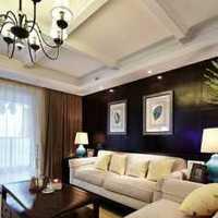 客厅紫色现代电视柜装修效果图
