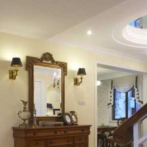 客厅上隔楼有楼梯客厅装修