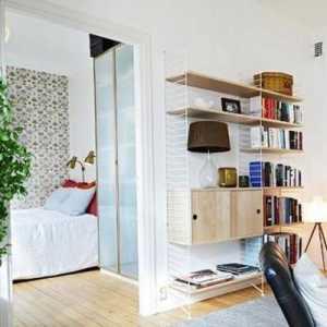 李牧_清新收纳设计 40平简约北欧公寓_2