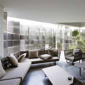 簡約風格別墅客廳柱子效果圖