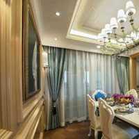 70平米二居室简约餐厅装修效果图