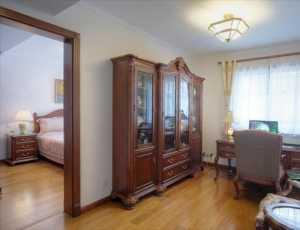 三居室新古典風格公寓富裕型臺灣家居效果圖