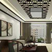 南北通透的房子104平二室一厅2021年10万元装修图