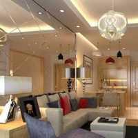 沙发吊灯家居摆件样板房装修效果图