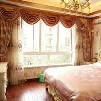 卧室彩雕背景墙双人装修效果图