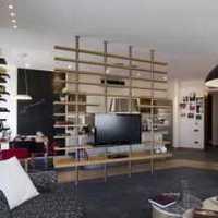 沙发客厅小户型现代简约装修效果图
