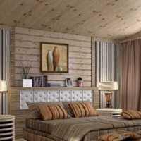 实木卧室家具简约盆栽装修效果图