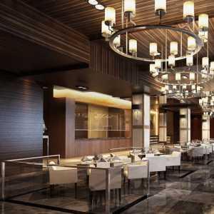 新古典風格別墅室內餐廳設計效果圖