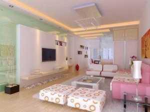 新古典 橙色系 客厅