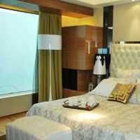 卧室美式窗帘卧室背景墙装修效果图
