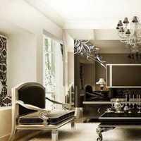 黑色主题风格客厅效果图