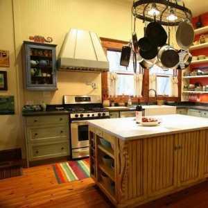 乡村风欧式厨房
