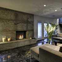 现代客厅客厅茶几二居装修效果图