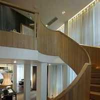楼梯欧式沙发吊灯复式楼装修效果图