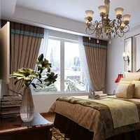 现代北欧实木地面主卧室装修效果图