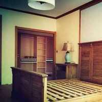 艺术三居室新中式装修效果图