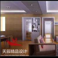 简约家居76平米一居室装修效果图