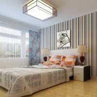 美式时尚卧室90平米装修效果图