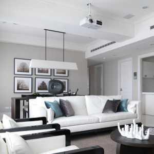 白色系 简约大气的客厅