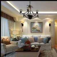灯具美式别墅美式装修效果图