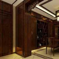 美式公寓卫生间室内效果图