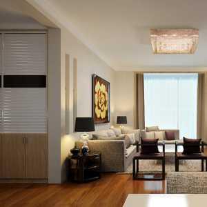 现代风格客厅电视背景墙阳台效果图