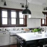 現代簡約廚房三房兩廳效果圖