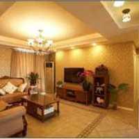 房子装修100平方左右两室一厅进门中间是过道