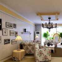混搭二居室小清新80平米装修效果图