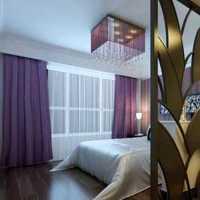 现代透光白色窗帘起居室装修效果图