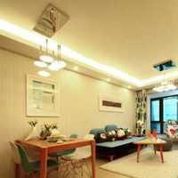 现代客厅盆栽茶几三居装修效果图