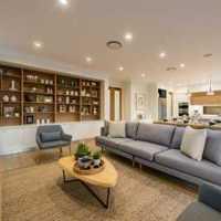 茶幾沙發三居大戶型客廳歐式風格效果圖