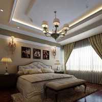 三室一厅北欧新房卧室装修效果图