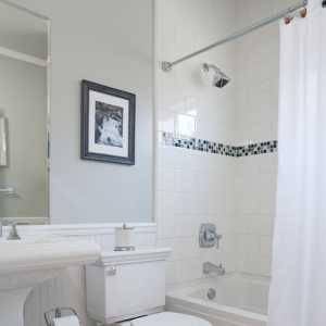 白色的卫浴空间设计