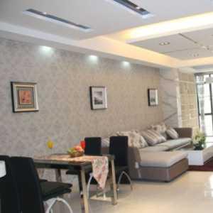 客廳吊頂造型美式風格效果圖