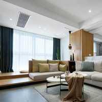 现代客厅海鸥沙发装修效果图